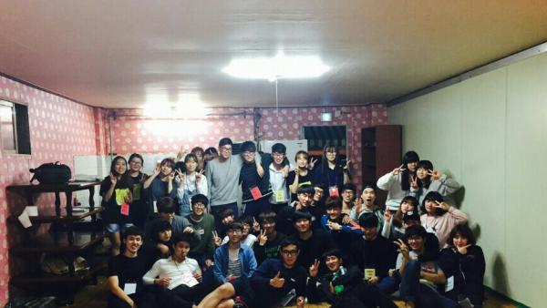 2015년 2학기 MT 단체사진